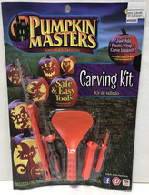 NEW Pumpkin Masters Carving Kit 21 pc with pattern book (5 tools & 16 pa... - £3.75 GBP