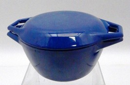 Vintage BLUE COPCO of DENMARK D1 1 Qt Covered Dutch Oven - $27.55