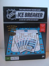 NHL Ice Breaker The Card Hockey Board Game Complete Icebreaker - $23.05