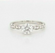 Hearts on Fire Diamond Engagement Ring 18K White Gold  $7,800 Retail, Si... - $4,603.50