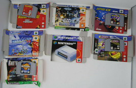 Nintendo 64 12 Game Lot Some with Boxes, Manuals, Protective Case, and G... - $320.00