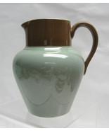 "DODSON BROTHERS Pottery, Hanley England - 5"" CREAM / MILK PITCHER - Gree... - $35.95"