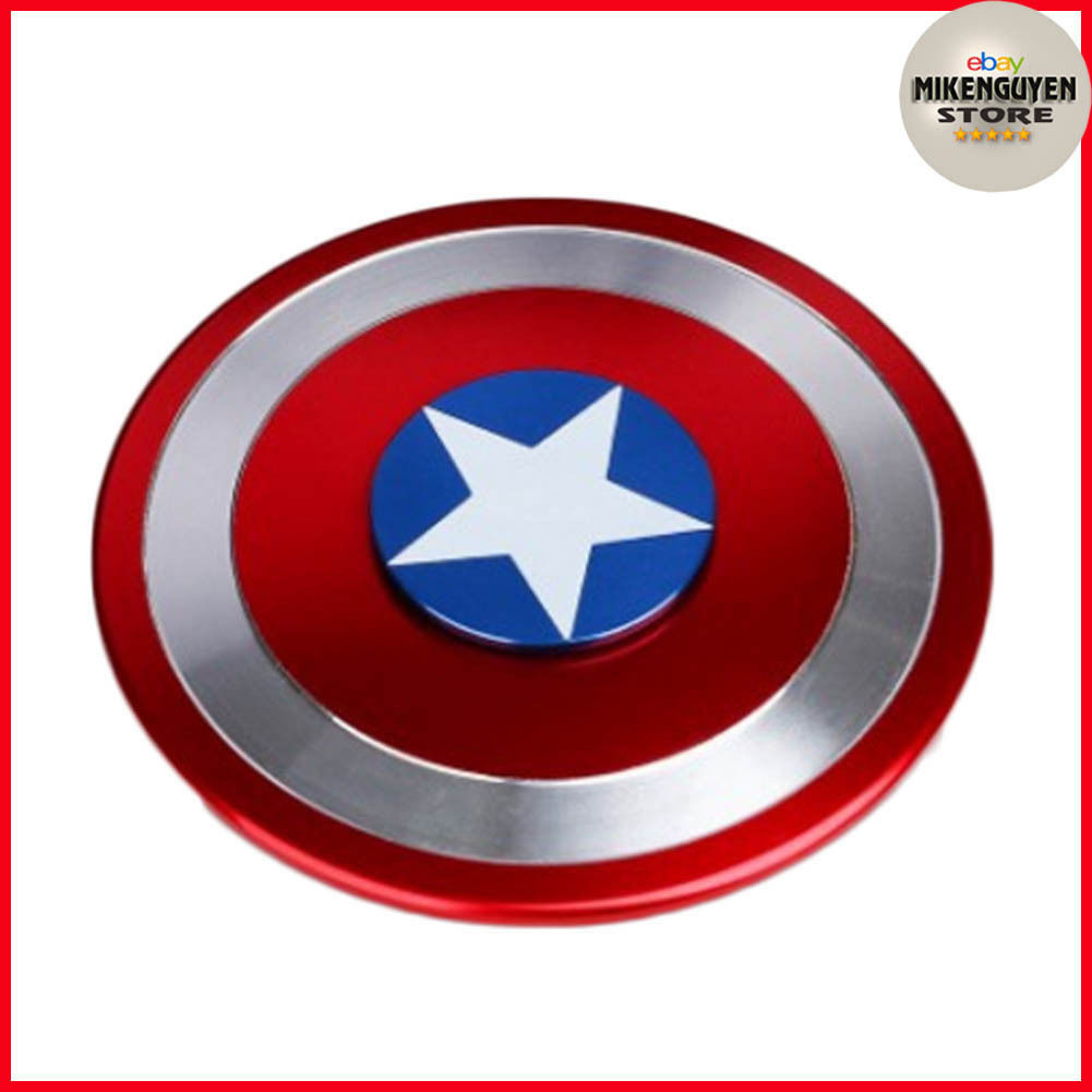 Captain America Shield Hand Spinner Metal and similar items. S l1600