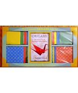 Gigantic ORIGAMI Book & Paper Gift Set The Art and Fun of Japanese Paper... - $34.30