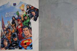 Justice League America The Flash Batman Dc Front Only Sublimation Print T-Shirt - $8.00+