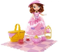 Disney Sofia the First Tea Party Picnic Doll NEW  - $52.32