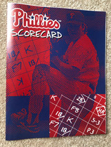 1998 Philadelphia Phillies MLB Baseball Scorecard - New - $5.00