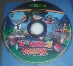 Worms 4: Mayhem (Microsoft Xbox, 2005)-Disc only - $4.99