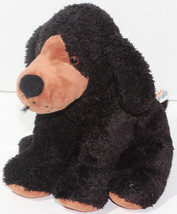 Mary Meyer Sweet Rascals Black Floppy Eared Bean Filled Dog Stuffed Plush Toy - $12.46