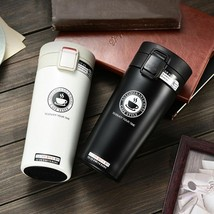 Thermal Travel Coffee Mug Comfortable Thermos Tumbler Stainless Steel Thermocup - $21.19