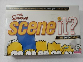New The Simpsons Scene iT? DVD Game Sealed Dated 2009 - $13.54