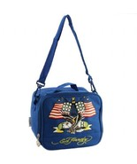 New Ed Hardy Shal American Eagle Lunchbox- Navy - $23.36