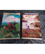 Love Inspired Steeple Hill Pam Andrews lot of 2 Christian Romance Paperb... - $3.99
