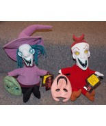 2004 NECA Nightmare Before Christmas Lock and Barrel Plush Toys New With... - $49.99