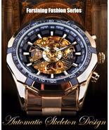 Forsining Men's Top Brand Luxury Golden Automatic Skeleton Sport Watch - $79.95