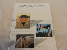 1983 USPS Mint Set of Commemorative Stamps Book Only no stamps - $13.85