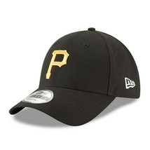 Pittsburgh Pirates New Era 9Forty Black The League Hook and Loop Strap Back Hat - $24.74