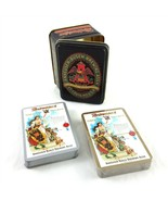 Vintage Anheuser-Busch Budweiser Classic Playing Cards Tin 2 Decks One S... - $24.65