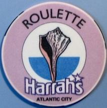 Roulette Casino Chip. Harrahs, Atlantic City, NJ. W21. - $4.29