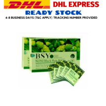 10 X 20s BSY Noni Black Grey Hair Removal Magic Herbal Essence Shampoo Dye 20ml  - $199.99