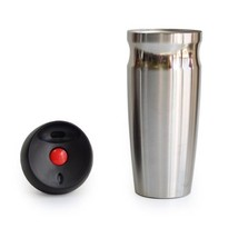 Vacuum Tumbler Insulated Ware Travel Mug Double Wall Steel Sweat 350ml T... - $26.15