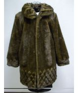 JUST REDUCED!!  Get Rich Brand Dark Brown Faux Fur Size Large - $71.00