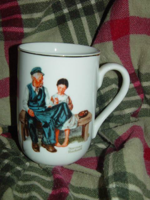1982 Norman Rockwell Museum The Lighthouse keeper's Daughter Cup/Mug