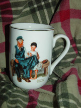 1982 Norman Rockwell Museum The Lighthouse keeper's Daughter Cup/Mug image 1