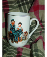 1982 Norman Rockwell Museum The Lighthouse keeper's Daughter Cup/Mug - $9.00