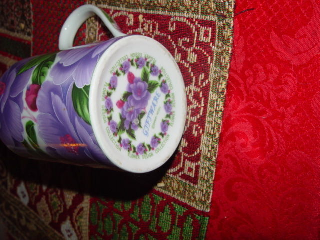 Giftware Power 40314 Flower Design Collection Coffee Mug Cup image 4