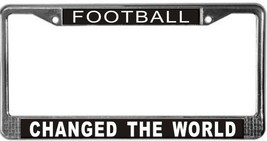 Football Occupy Wall Street License Plate Frame (Stainless Steel) - $13.99
