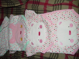 Bon Bebe Size 3-6 Months 13 -18 lbs set of 3 One-Pieces image 2