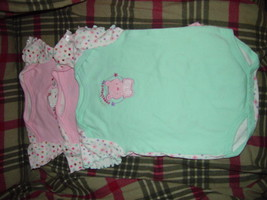 Bon Bebe Size 3-6 Months 13 -18 lbs set of 3 One-Pieces image 4