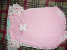 Bon Bebe Size 3-6 Months 13 -18 lbs set of 3 One-Pieces image 3
