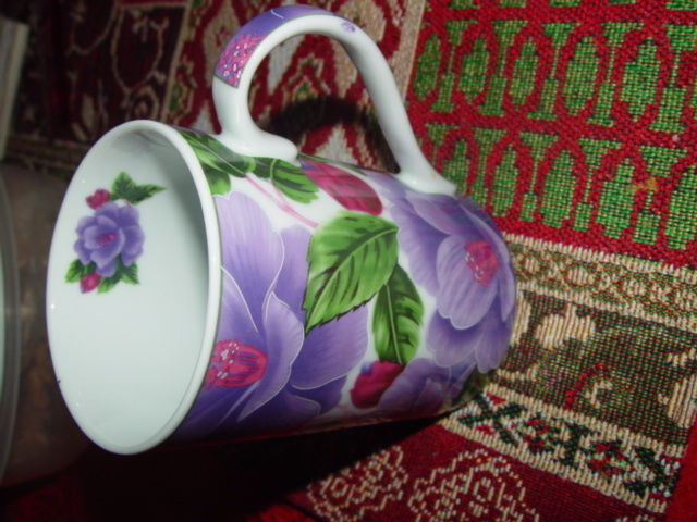 Giftware Power 40314 Flower Design Collection Coffee Mug Cup image 6