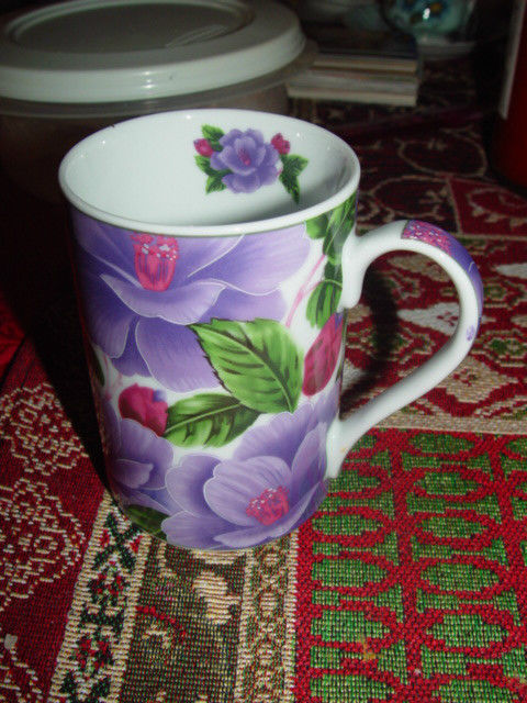 Giftware Power 40314 Flower Design Collection Coffee Mug Cup image 7