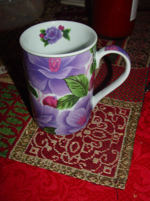 Giftware Power 40314 Flower Design Collection Coffee Mug Cup image 5
