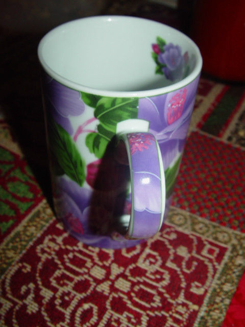 Giftware Power 40314 Flower Design Collection Coffee Mug Cup image 9