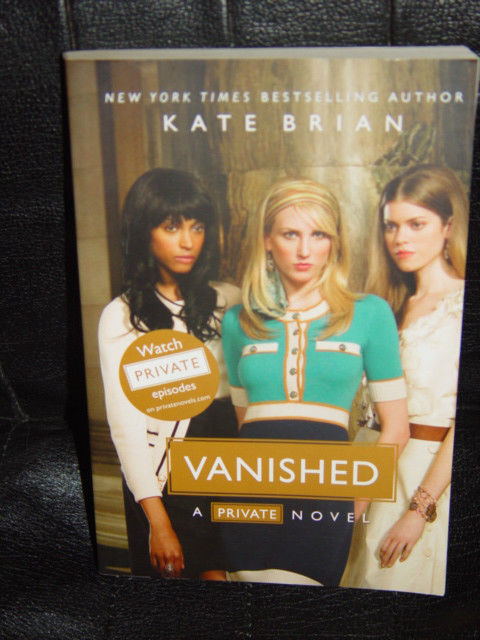 Vanished by Kate Brian 2010 Paperback A Private Novel