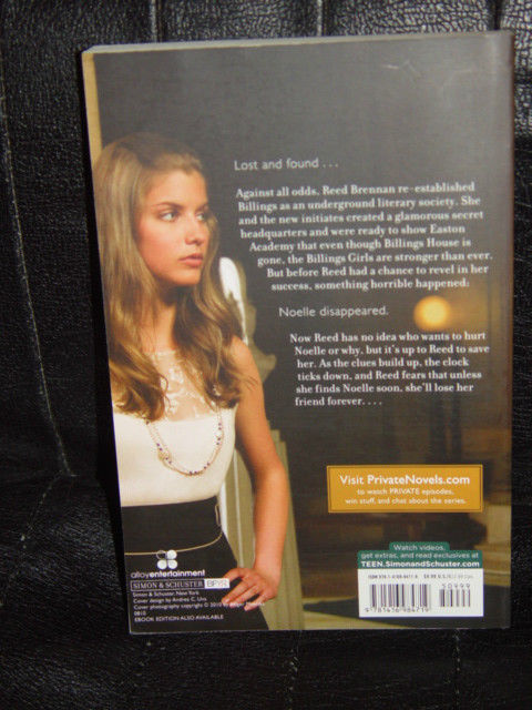 Vanished by Kate Brian 2010 Paperback A Private Novel image 2