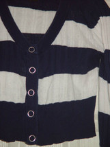 Wet Seal Size L Juniors Cardigan Sweater Like Top image 1