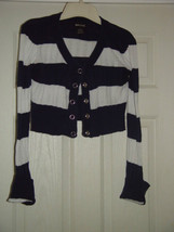 Wet Seal Size L Juniors Cardigan Sweater Like Top image 3