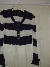 Wet Seal Size L Juniors Cardigan Sweater Like Top image 4