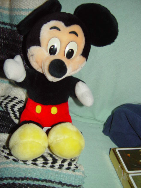 "Disney's Mickey Mouse 14 1/2"" Tall"