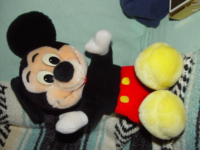 "Disney's Mickey Mouse 14 1/2"" Tall image 8"