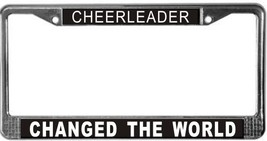 Cheerleader Occupy Wall Street License Plate Frame (Stainless Steel) - $13.99