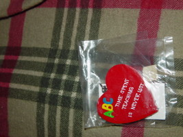 Teachers R Special Heart Shape Time Spent Teaching Is Never Lost Key Chain image 2