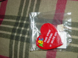 Teachers R Special Heart Shape Time Spent Teaching Is Never Lost Key Chain image 1