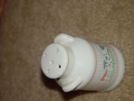 One Old White Cow Salt Shaker image 5