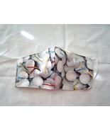 Handmade Face Mask Cotton Adult Golf 3 Layer Non Woven Interfacing Washa... - $10.99